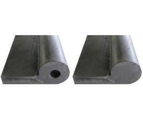 钢闸门橡胶止水带、内拐角止水带、P型橡胶止水带