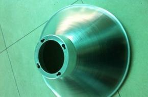 厂家生产LED工厂灯配件 90角度工矿灯罩