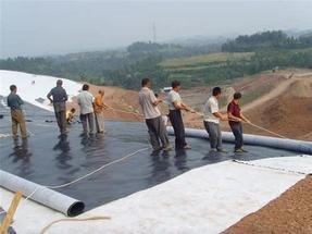 桂林土工膜柔性材料方便施工
