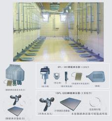 工厂学校浴室节水用可明装暗装冷热混水阀脚踏淋浴器