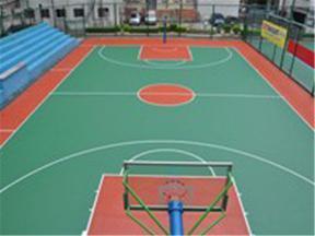 硅PU篮球场工程
