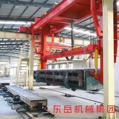 加气混凝土生产设备革新