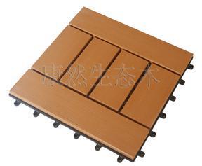 惠州生态木厂家直销防水防腐防潮酒店家居阳台DIY地板