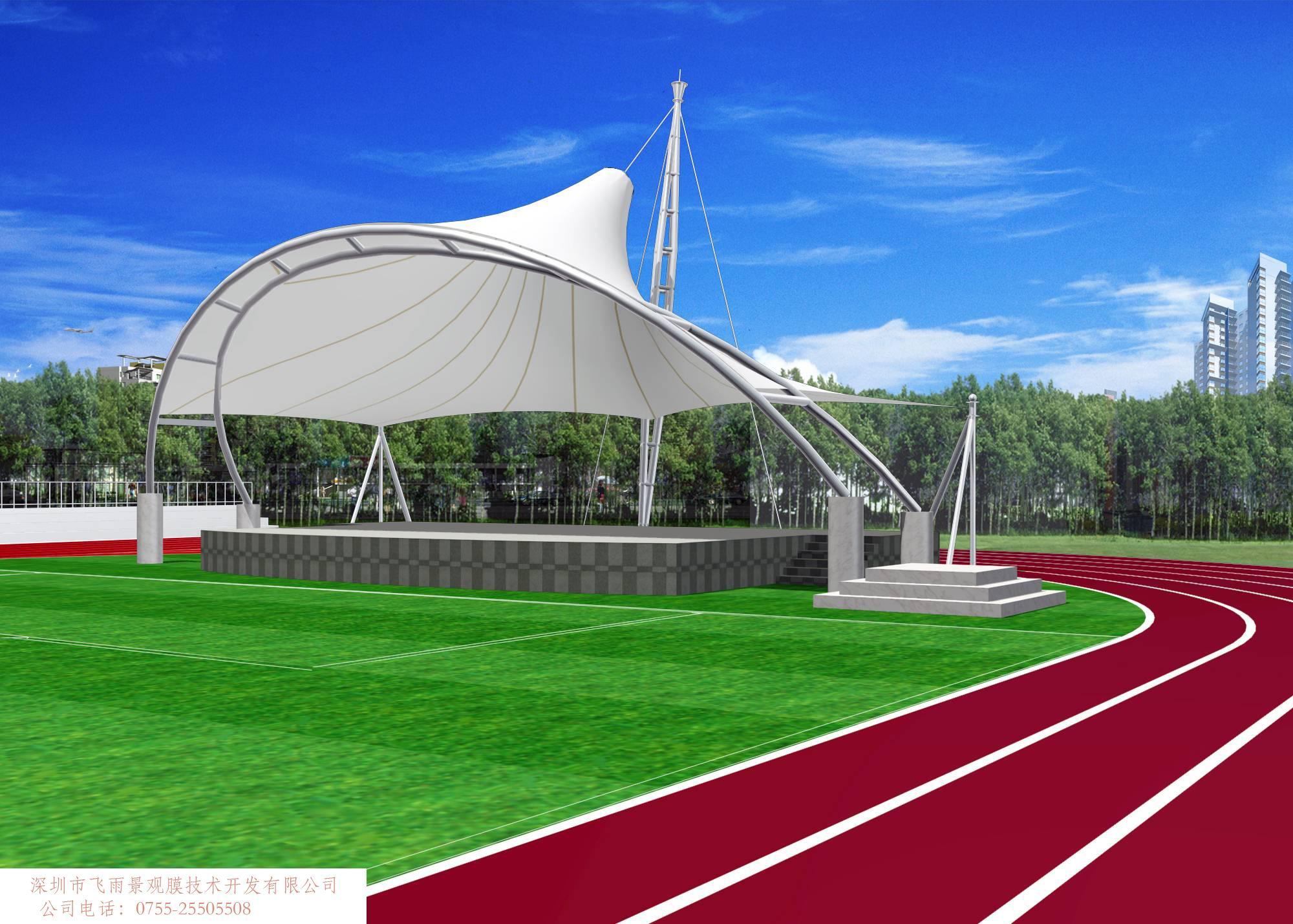 膜结构建筑的特点及应用领域:      膜结构是一种全新的建筑