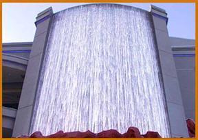大连幕墙公司玻璃幕墙水幕墙