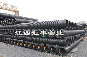 国标节流式HDPE缠绕增强管生产厂家价格不二之选