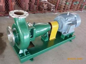 IH80-50-200卧式悬臂式化工泵耐酸碱防腐泵