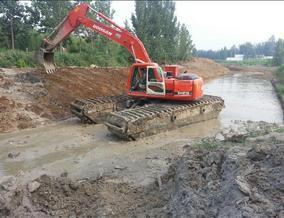 水陆挖掘机出租哪家专业