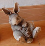 兔子石雕/石雕工艺 GAB495