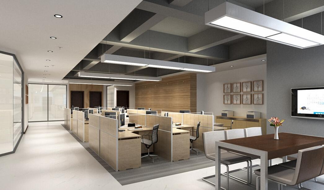 郑州简约风格办公室装修设计方案成企业首选
