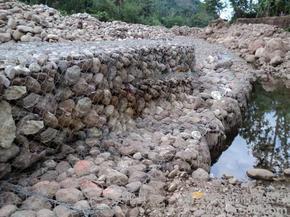 生态防洪护坡固滨笼-热镀锌涂塑绿滨垫沟渠治理