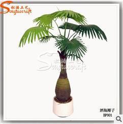 园林绿色棕榈类高品质假仿真植物 室内外酒店造景装饰酒瓶椰子树