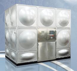无负压变频供水设备不锈钢生活水箱