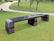 黑色花岗岩长凳GCF265