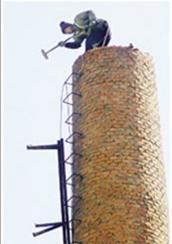 北京砖烟囱拆除
