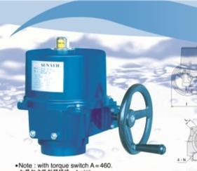 sunyehom-4电动执行器