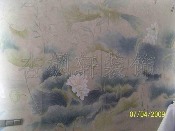 真丝手绘墙纸-05收藏