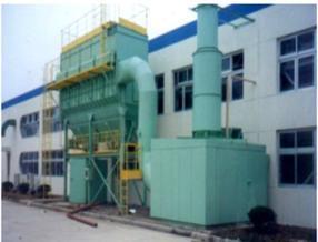 LCPM分室侧喷低压脉动袋式除尘器