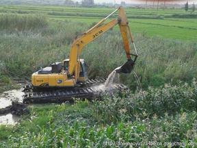 水陆两用挖掘机 出租 改装 销售