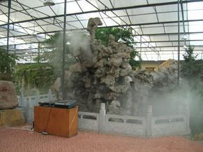 生态园景观造雾工程
