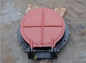 防止倒灌拍门-铸铁拍门厂家