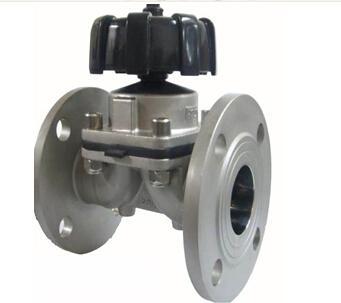 气动法兰隔膜阀,盖米型气动隔膜阀图片