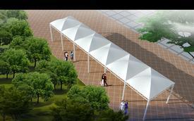 污水加盖膜结构,气模结构工程