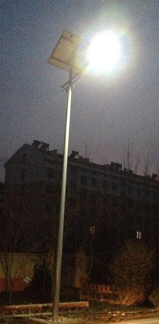 8m太阳能led路灯