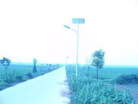太阳能路灯照亮安徽六安寿县