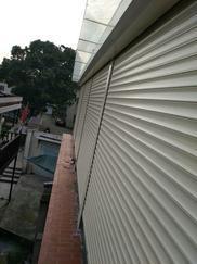 苏州居家窗户电动铝合金卷帘窗