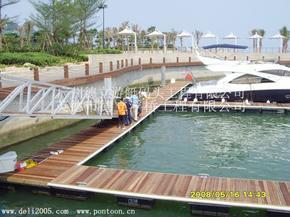 游艇码头设计、游艇码头施工、游艇码头管理