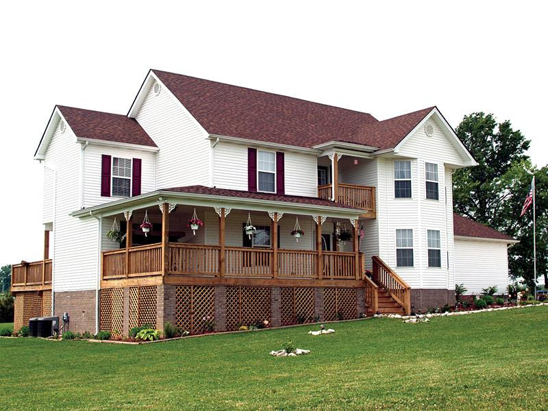 木结构房屋别墅