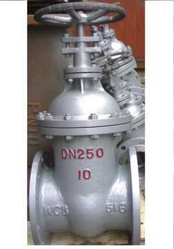 铸钢暗杠闸阀z45h-10c dn50图片