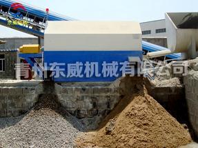 混凝土商砼单车位砂石分离机(东威DW-40-1)