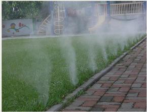 易经厂家供喷雾景观冷雾人造雾机,喷雾降温