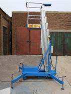 供应单柱式铝合金升降机、大连铝合金升降平台。