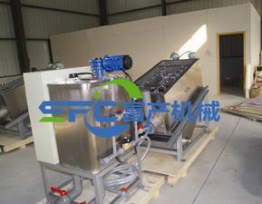 DL-202叠螺式污泥脱水机 叠螺式压滤机