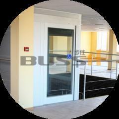 100%纯进口Barduva螺杆式电梯 专注于小型家用电梯
