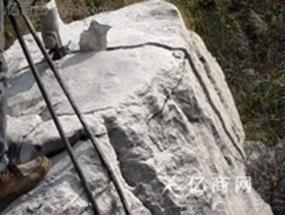 矿石破碎分裂岩石-矿石静态爆破设备-液压劈裂器