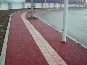 彩色透水地坪,园林景观配套工程材料
