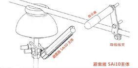 配电线路雷击防护新技术--新型避雷器