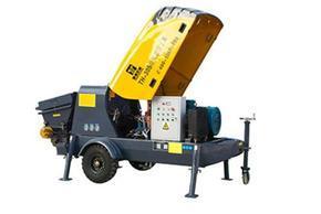胶南市小型送混泥土机械