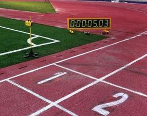 体育场田径计时计分系统 径赛电子计时仪
