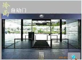 东莞黄江冷雨自动门、LEY150感应玻璃门、刷卡门