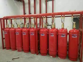 成都消防器材批发,七氟丙烷气体灭火装置价格