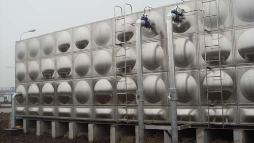 组合式不锈钢水箱及水箱模压板