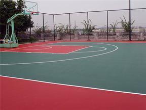 塑胶篮球场价格-篮球场围网价格