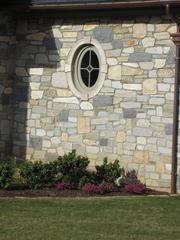 锈色板岩文化石HS014墙石效果