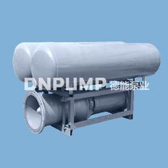 河道水库漂浮式排水抽水浮筒泵