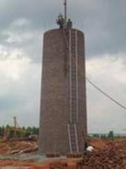 新建30米砖烟囱